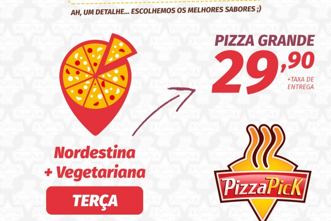 É Pizza Pick!!